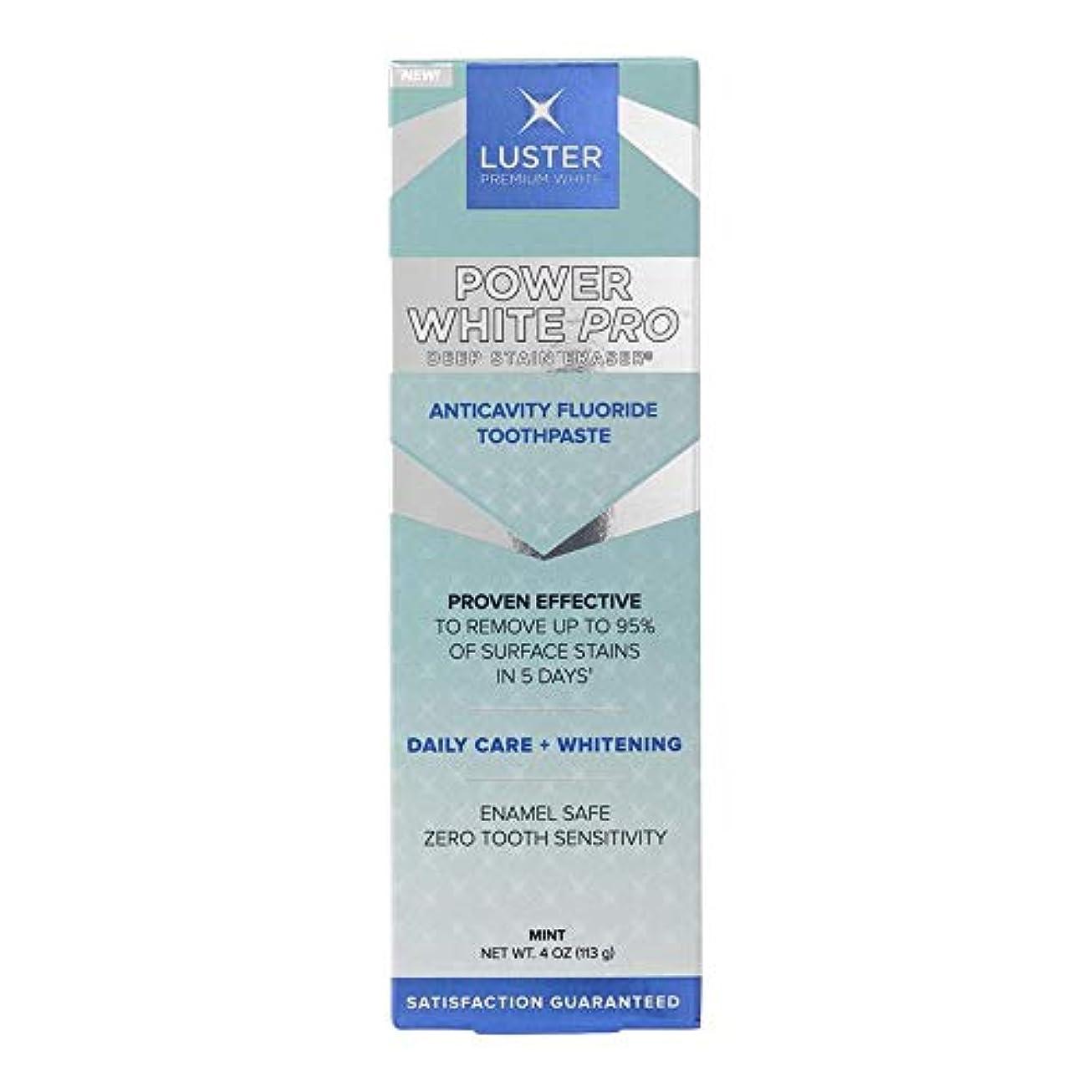 微生物模索スカーフLuster プレミアムホワイト|パワーホワイトプロデイリーケアディープステイン消しゴム歯虫歯予防フッ素ホワイトニングの歯磨き粉、ミント