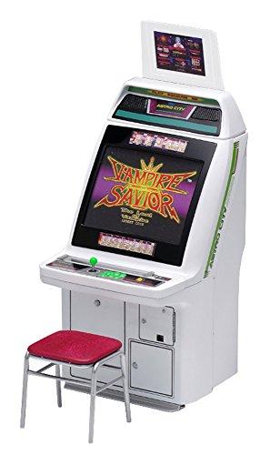 ウェーブ メモリアルゲームコレクションシリーズ アストロシティ筐体 カプコンタイトルズ 1/12スケール 全高約15cm 色分け済みプラモデル GM025