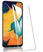 Ultra Thin 強化ガラススクリーン 保護for Samsung Galaxy A40,Luckyandery [強化ガラス] 強化ガラススクリーン, 抗划伤, Bubble Free For Samsung Galaxy A40,3 Pack