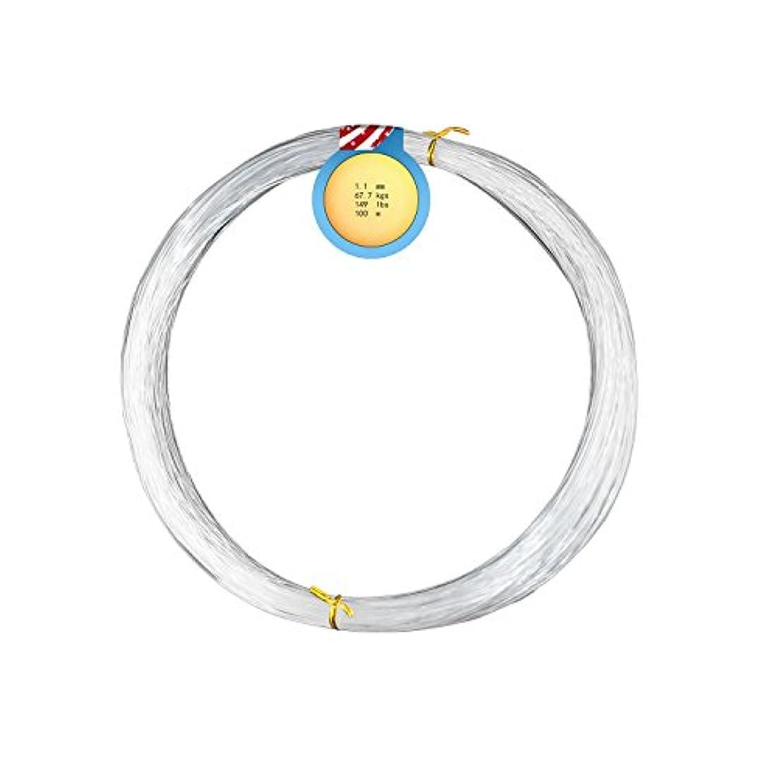 疑問に思う美しい変わるAGOOL NF300 モノフィラメントナイロンライン ソフトライン 単繊維 国産素材採用 NF-300 Monofilament NYLON LINE 100m*5(5輪セット) 13.60LB(0.3mm)-361.60LB(1.9mm) 高伸度 高強度 高耐久釣り系 クリア