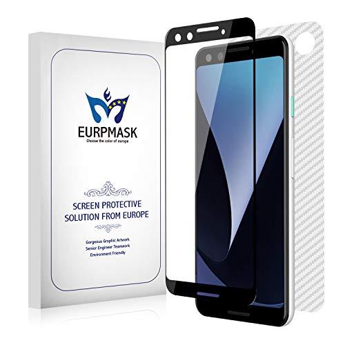 EURPMASK Google Pixel 3 ガラスフィルム【反応良好&高透過率・鮮やかな色を再現】 Google Pixel 3 専用 ...