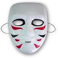 ゴールデンボンバー 樽美酒研 風 ホワイトマスク お面 コスチューム用小物