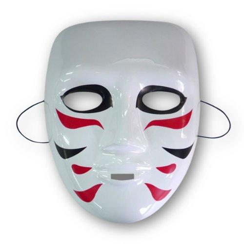 ゴールデンボンバー 樽美酒研 風 ホワイトマスク お面 コス...
