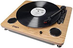 ION Audio Archive LP レコードプレーヤー USB端子 スピーカー内蔵