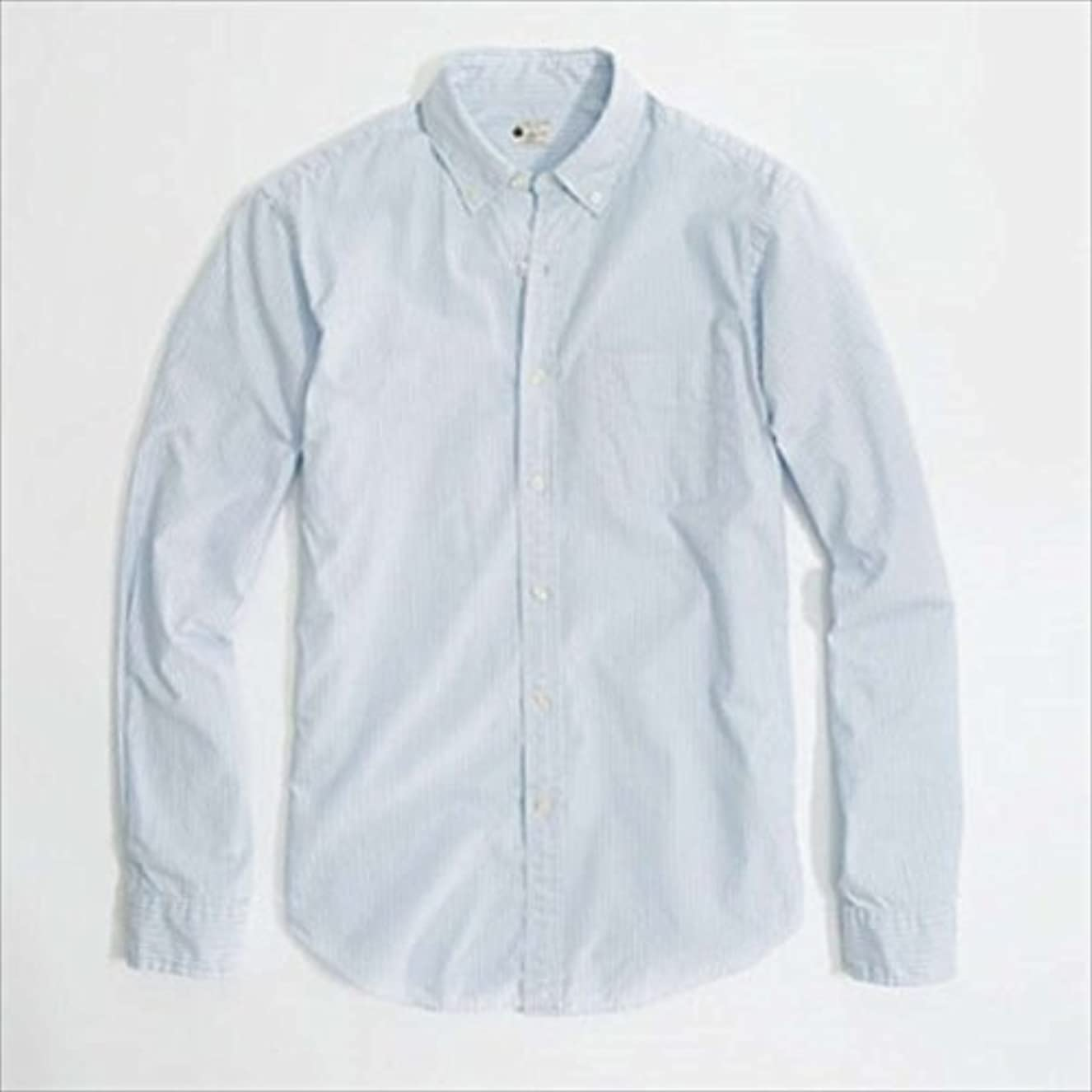 ホップすべき偽[ジェイクルー] J.CREW 正規品 メンズ 長袖BDシャツ SUNWASHED OXFORD SHIRT IN STRIPE 並行輸入品 (コード:4016863832)