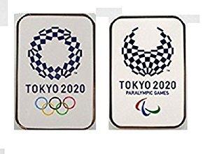 東京 2020 公式 オリンピック/パラリンピック エンブレム ピンバッジ オフィシャルライセンス グッズ