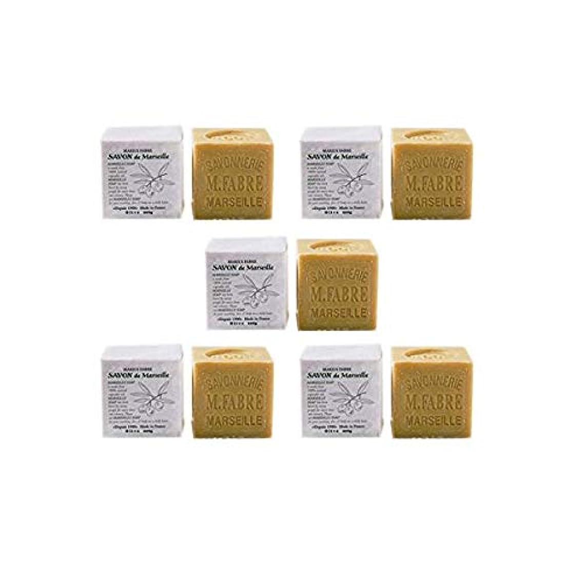 恥ずかしさネズミの中でマリウスファーブルジューン社 サボンドマルセイユ無香料200gオリーブN 5個セット(200g×5個)無添加オリーブ石鹸