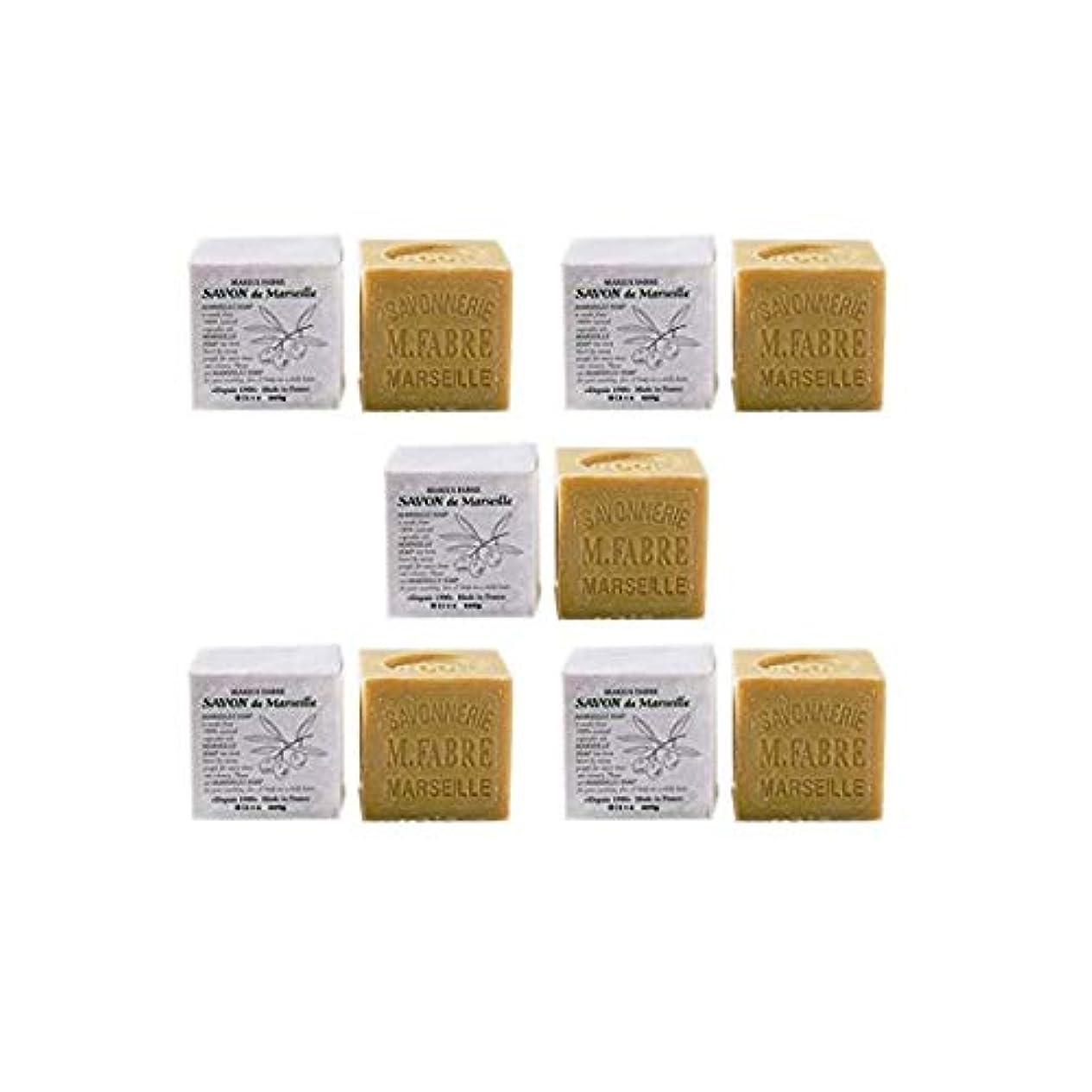 無臭バスタブ欠員マリウスファーブルジューン サボンドマルセイユ無香料200gオリーブN 5個セット(200g×5個)無添加オリーブ石鹸