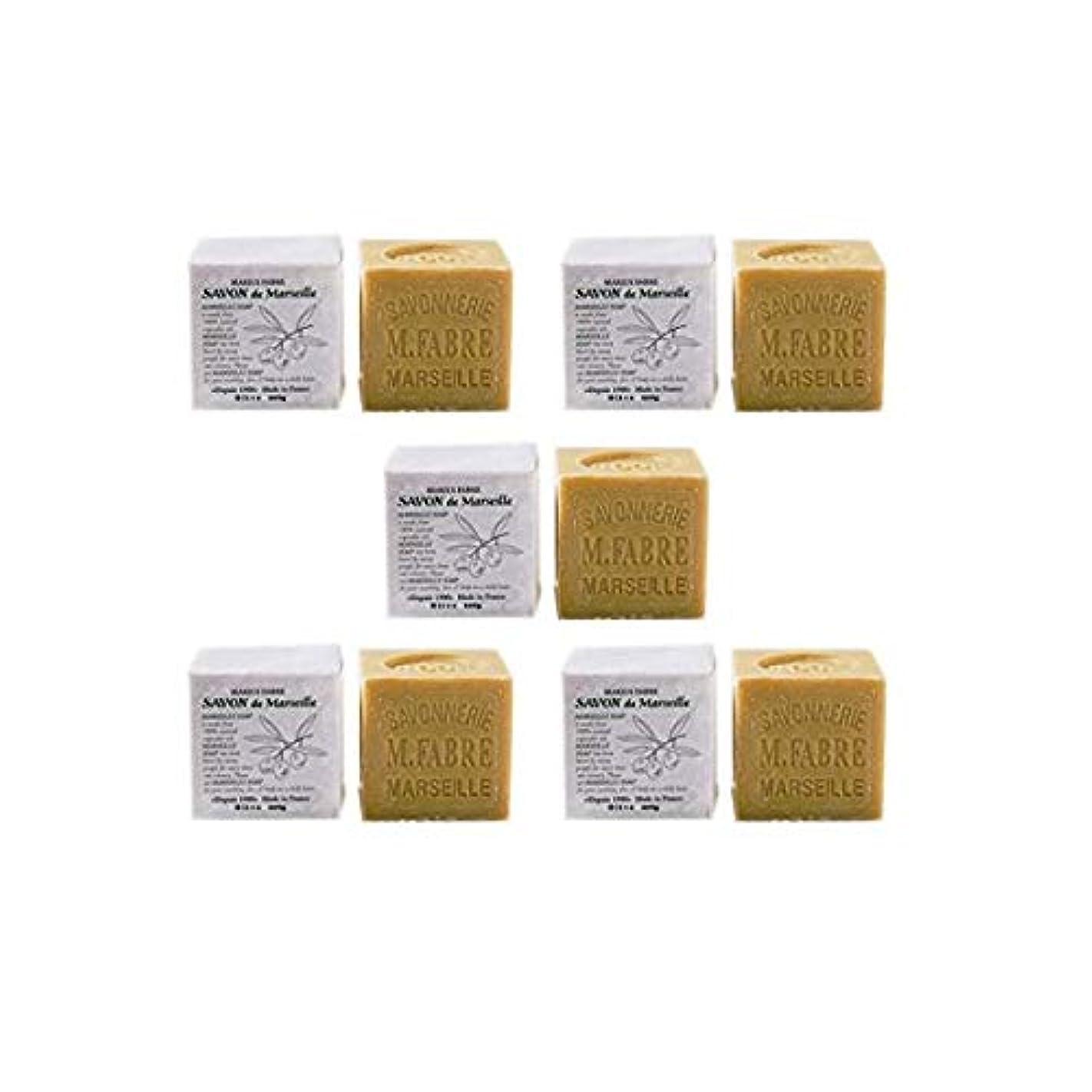 敬意家族シュガーマリウスファーブルジューン サボンドマルセイユ無香料200gオリーブN 5個セット(200g×5個)無添加オリーブ石鹸