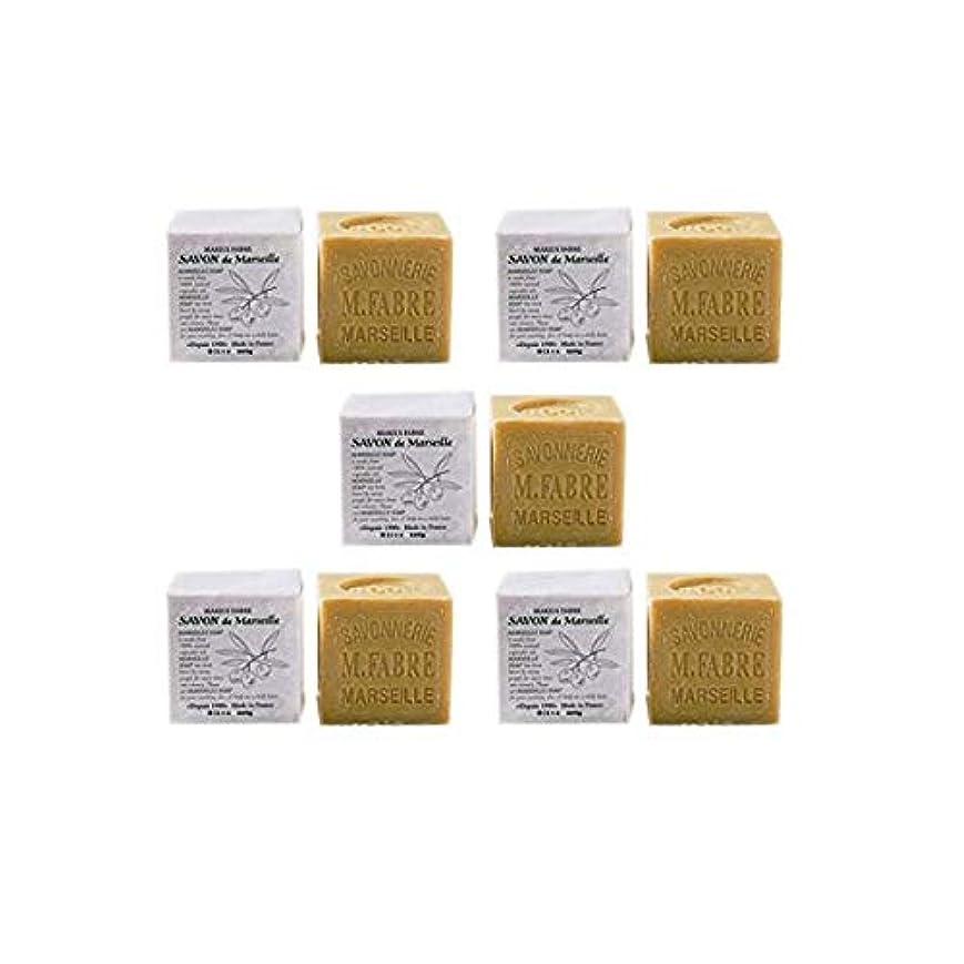 商人コーヒー中間マリウスファーブルジューン サボンドマルセイユ無香料200gオリーブN 5個セット(200g×5個)無添加オリーブ石鹸