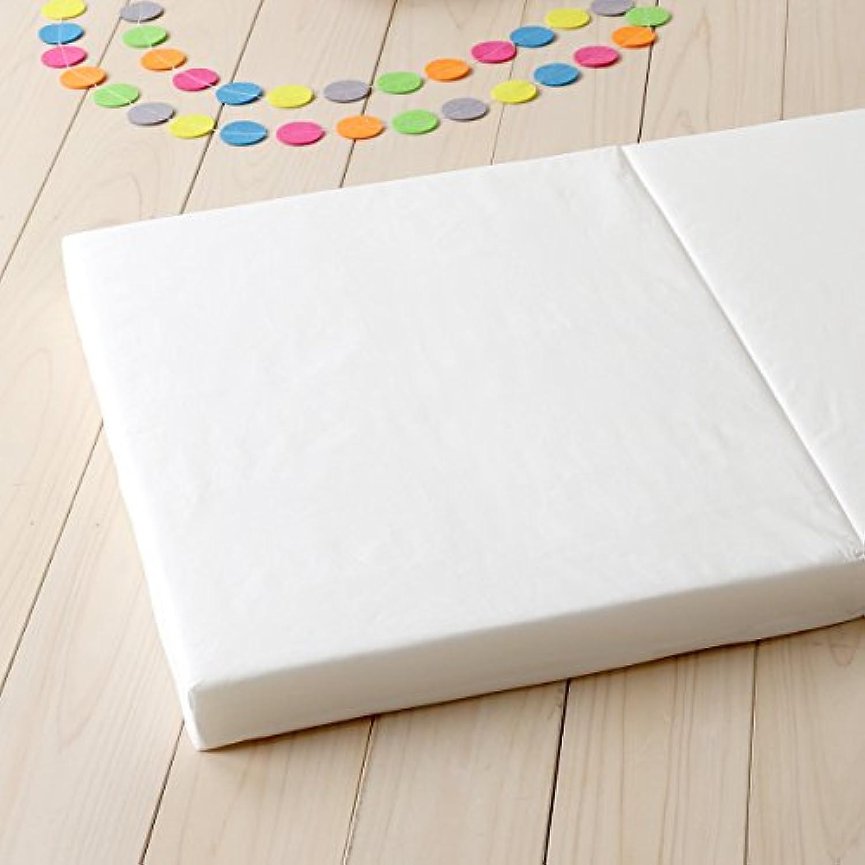 西川リビング 固綿 敷き布団 ミニサイズ 『60×90cm』 (ヌード?ベビー用) 日本製 8743 ホワイト