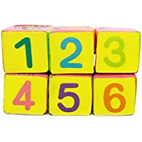 eelhoe布建物ブロック布ブロックfor Babiesベビー布ブロック数値Alphabet多機能布ブロック