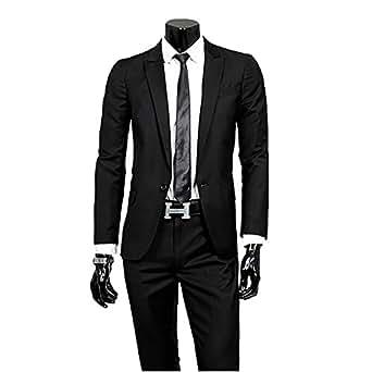 Cloud Style(クラウド スタイル)メンズ スーツ 一つボタン カジュアル スリム 紳士服/入社式/卒業式/就職/結婚式  スーツセット上下