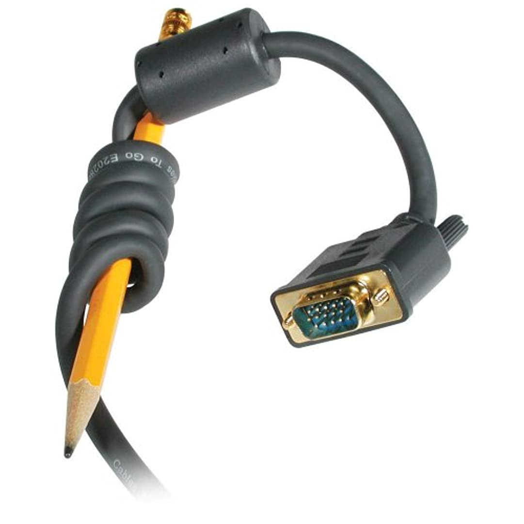 ペルメルジョブ怠けた28243 6フィートFLEXIMA HD15 MM UXGAモニターケーブルに行くケーブル