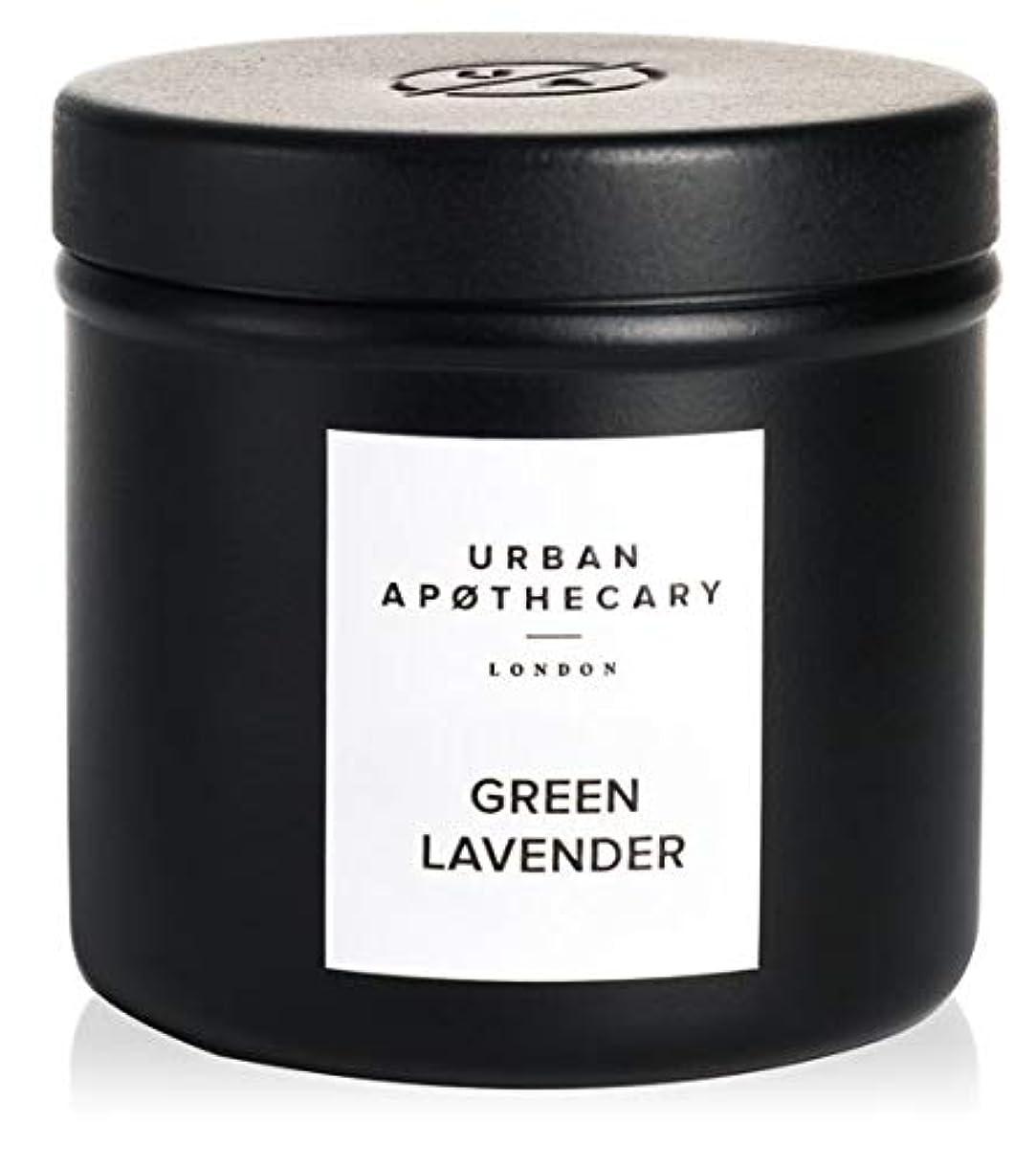 しなやかな前提染色URBAN APOTHECARY トラベルキャンドル GREEN LAVENDER 175g
