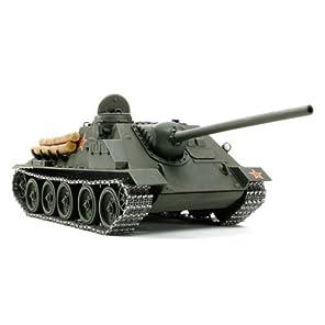 タミヤ スケール限定シリーズ 1/25 ソビエト 襲撃砲戦車 SU-100 ジューコフ 25104