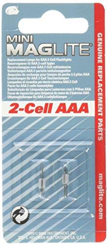 ミニマグライト スペア電球(AAA用) 2個入 / 0-28...