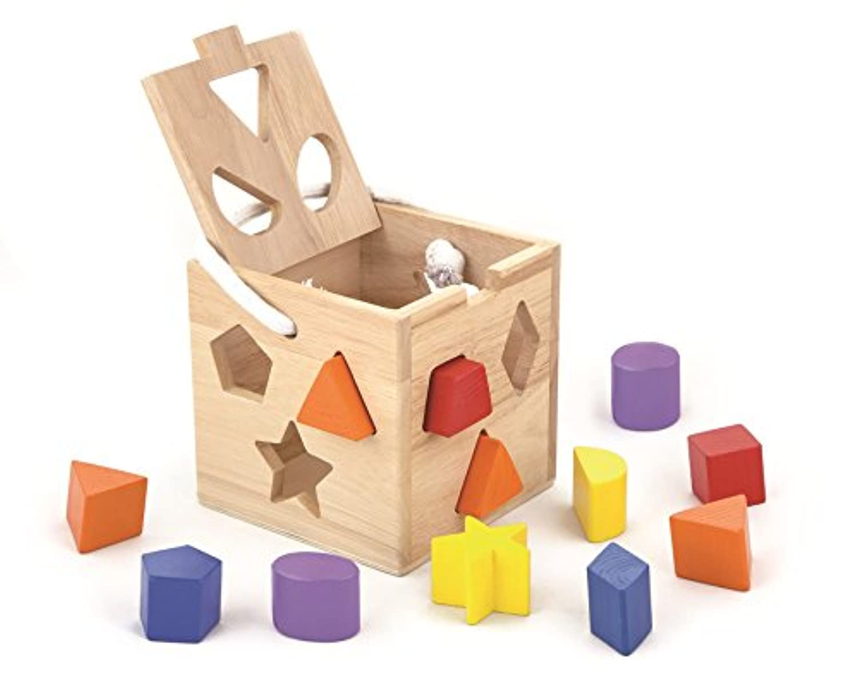 12pcs Shape Sorting Cube