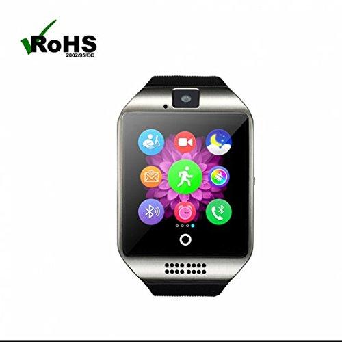 LED 腕時計 スマートブレスレット 多機能 フィットネス ...