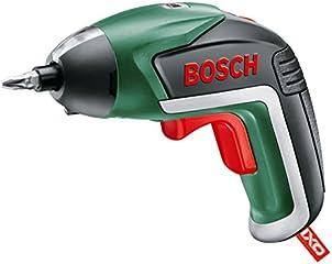 ボッシュ(BOSCH) 電動ドライバー コードレス 充電式 LEDライト 正逆転切替 家具の組み立て DIY ビット10本 充電器・ケース付 IXO5