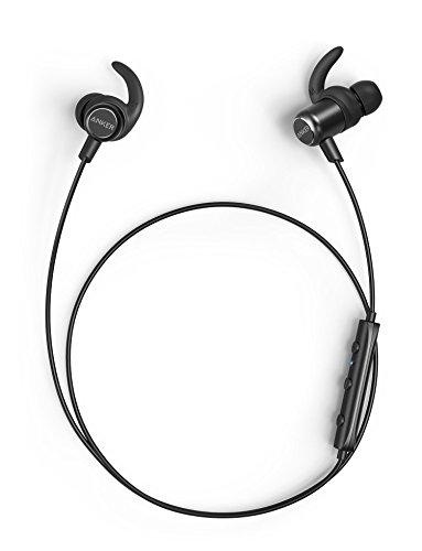 Anker SoundBuds Slim+ (カナル型Bluetoothイヤホン)aptX対応 / マイク内蔵 / IPX5防水規格iPhone、Android各種対応