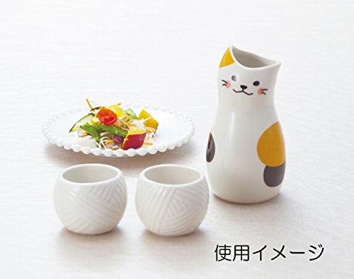 おもしろ食器 とっくり & おちょこ セット 三毛猫 SAN2524