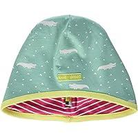 loud + proud Girl's Reversible Cap Allover Print Organic Cotton Hat