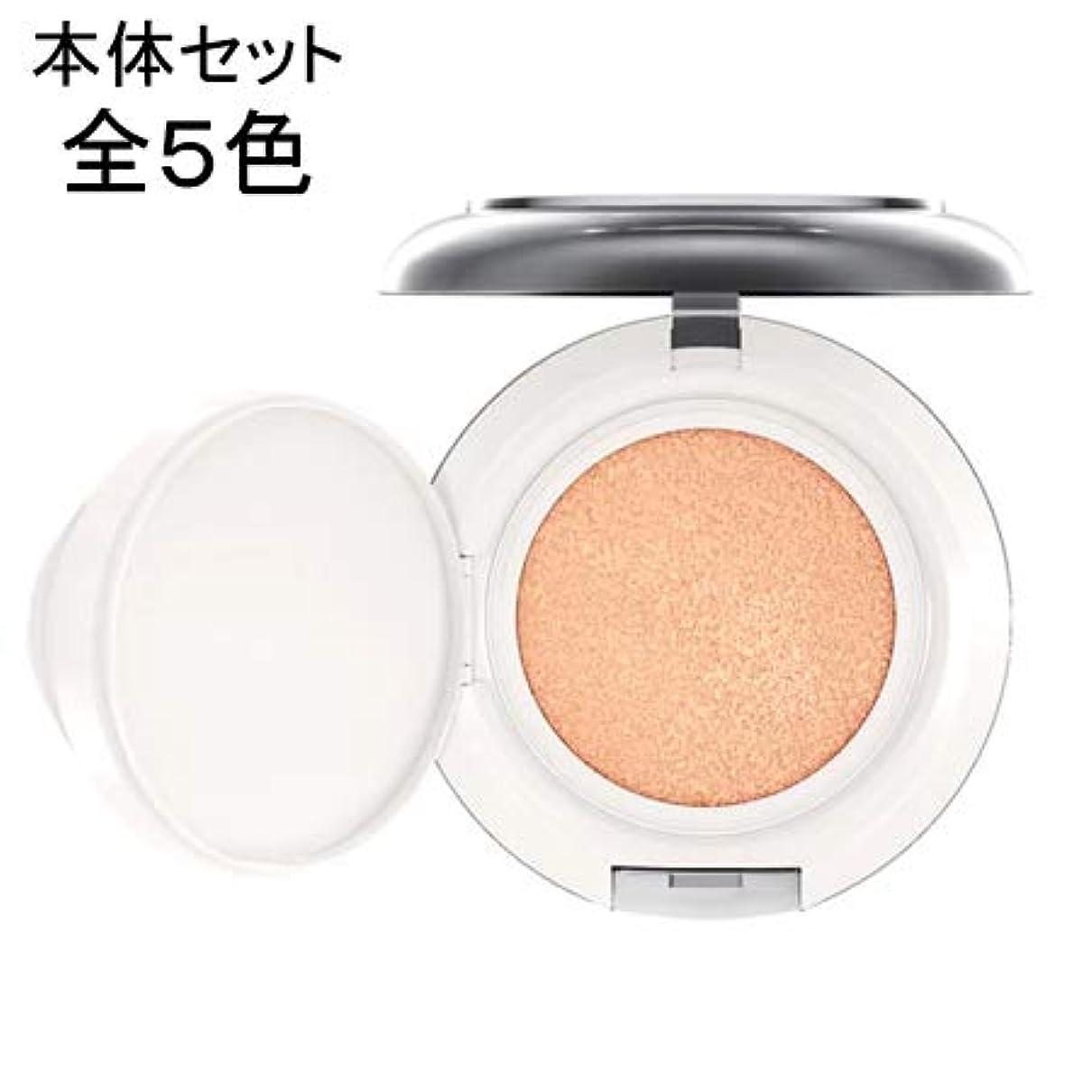 極小豆腐一致するマック ライトフル C+ SPF 50 クイック フィニッシュ クッション コンパクト (本体セット) 全5色 -M?A?C MAC- エクストラライト