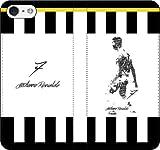 iPhone/Xperia/Galaxy/他機種選択可:サッカー/グラフィティ手帳ケース(デザイン:ユベントス/7番_02) 13 全機種対応用【Sサイズ】