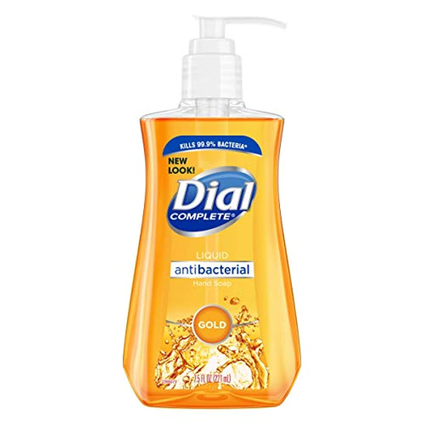 繁雑司書美容師海外直送品Dial Antibacterial Liquid Hand Soap, Gold 7.5 oz by Dial