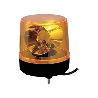 パトライト 大型回転灯 黄色  KG-100
