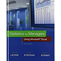Statistics for Managers Using Microsoft Excel with PHStat (8th Edition)【洋書】 [並行輸入品]