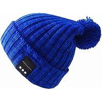 音楽Bluetooth Beanie Hat Eardphonesステレオスピーカー&マイクテックギフト男性女性Girls Boys