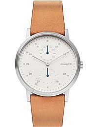 [スカーゲン] 腕時計 KRISTOFFER SKW6498 メンズ 正規輸入品 ブラウン