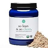 Ora Organic So Lean & So Clean Organic Protein Powder, Chocolate, 600g