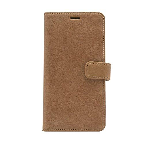 ZENUS iPhone X ケース 手帳型 本革 Vintage Diary ビンテージブラウン(ゼヌス ビンテージダイアリー)アイフォン カバー 5.8インチ【日本正規代理店品】 Z10300i8