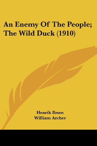Download An Enemy Of The People, The Wild Duck 0548791821