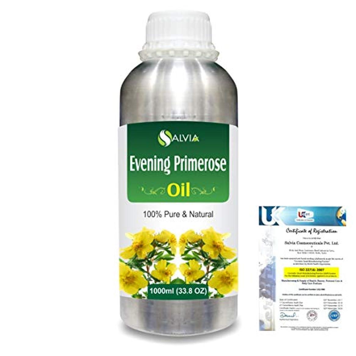 許可あいさつ器官Evening Prime rose 100% Natural Pure Essential Oil 1000ml/33.8fl.oz.
