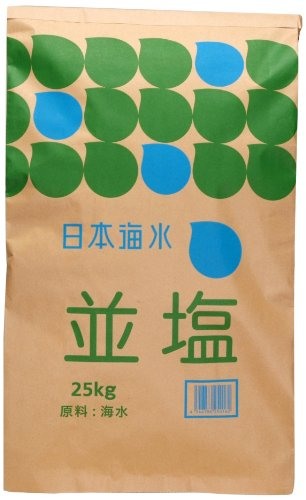 日本海水 日本海水 赤穂並塩 25㎏