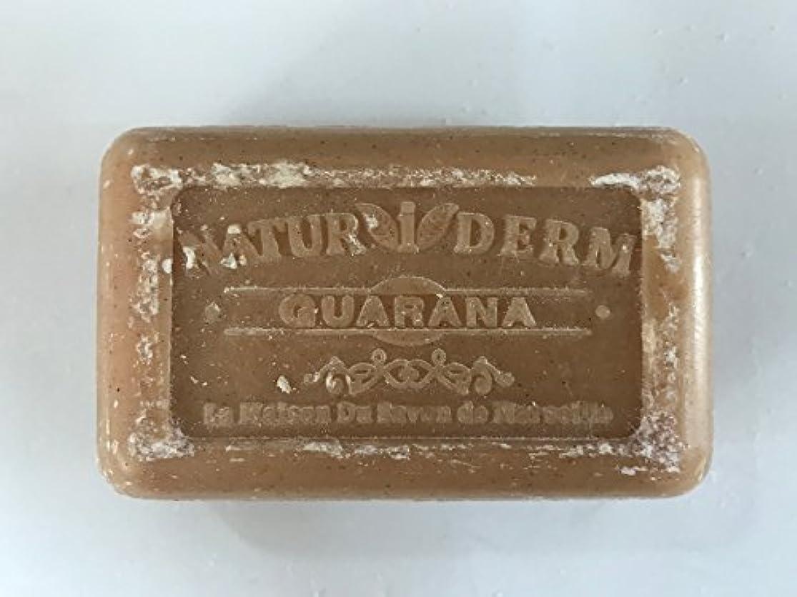 伝導率後方資本Savon de Marseille Naturiderm Soap Guarana 125g