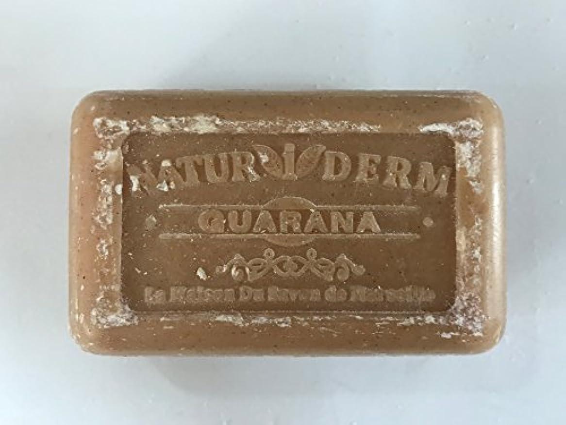 チョークシャベル古くなったSavon de Marseille Naturiderm Soap Guarana 125g