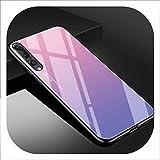 Huawei製カバーケース強化ガラス電話ケース、04、Nova 3iために、01、Nova2iために,02, P20Proために