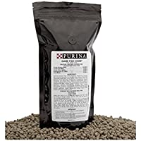Purina Mills Game Fish Chow, A 32% Protein, Extruded Multi-Particle Size Floating Diet For Bass, Bluegill, Catfish, Minnows, Carp, And Other Fish That Normally Populate Ponds, 1 lb. by Purina Mills Game Fish Chow