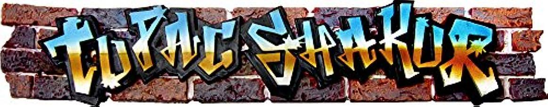 言うまでもなく不正直リーガンTupac Shakur - Graffiti Logo - Incense Burner by Square Deal Recordings & Supplies [並行輸入品]