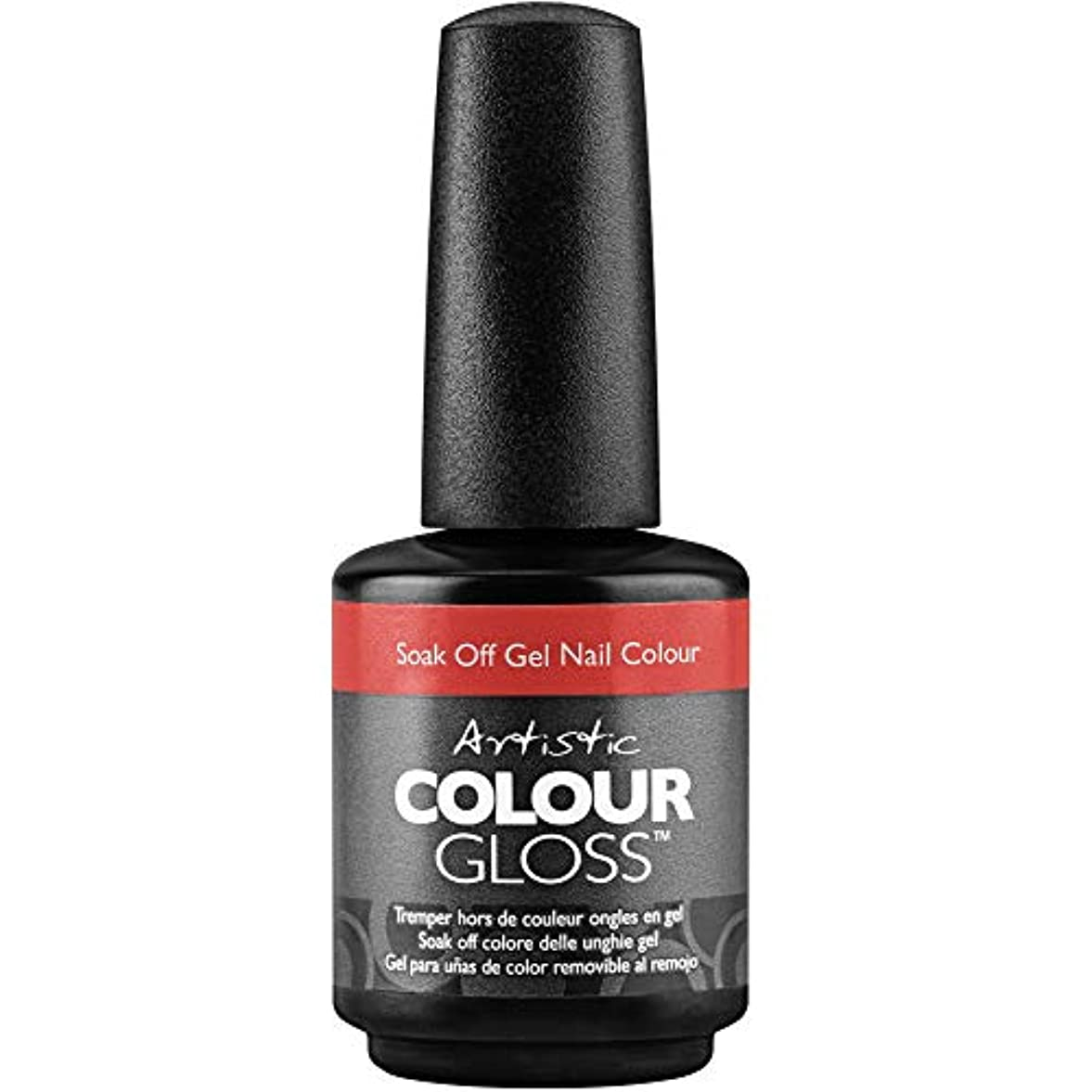 悲しむ放射性世界の窓Artistic Colour Gloss - Little Red Suit - 0.5oz / 15ml