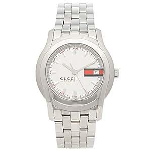 [グッチ] 腕時計 メンズ GUCCI YA055205 シルバー ホワイト [並行輸入品]