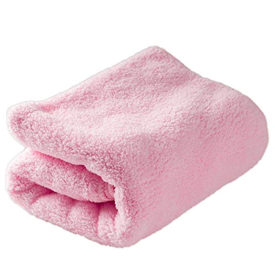 シリーズ明快盗賊システムK タオル 柔らか肌触り 超極細毛 マイクロファイバー 超吸水 ピンク フェイスタオル