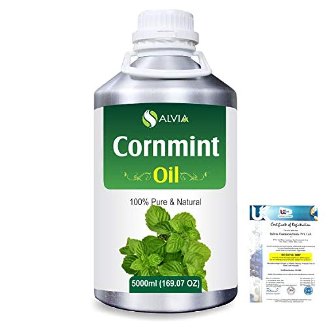 レンズ評価する元気Cornmint Oil (Mentha arvensis) 100% Natural Pure Essential Oil 5000ml/169fl.oz.