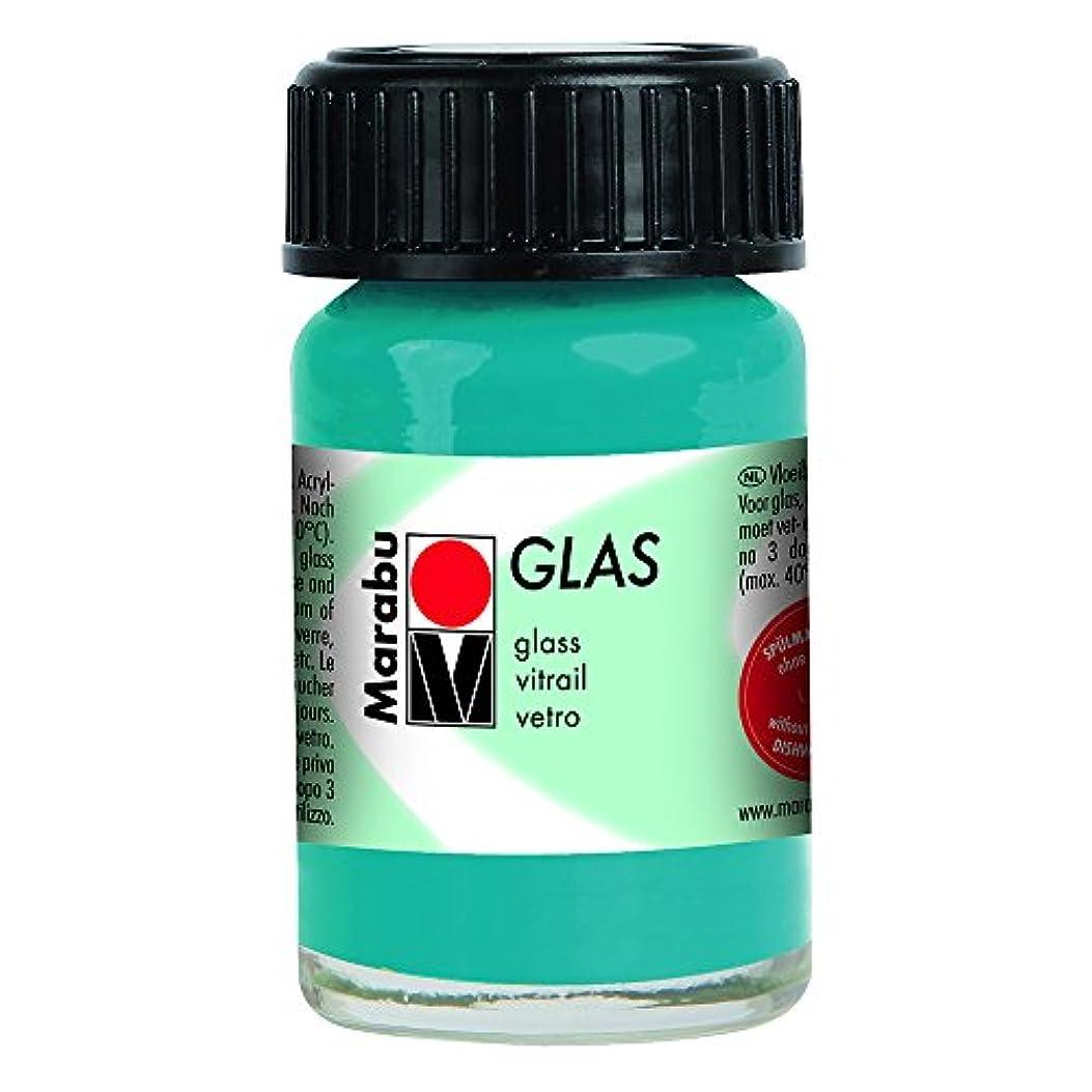 ビンキノコサイズMarabu Glas – Petrol 15 ml
