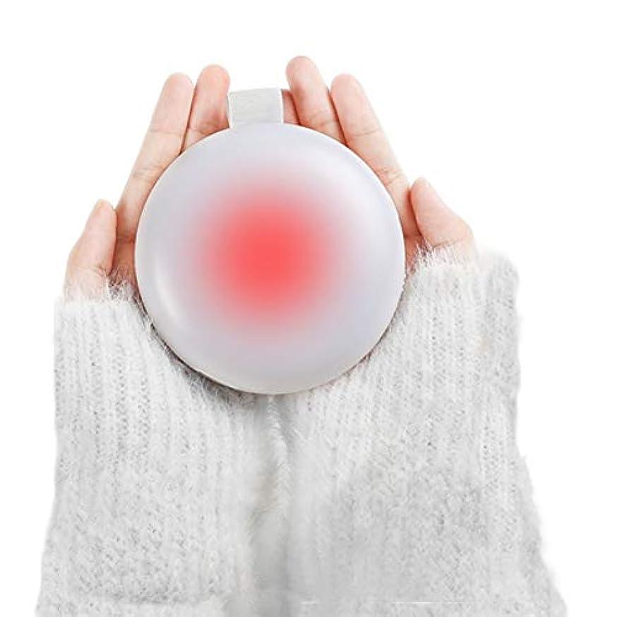 衣類アサートチキン女性の男性のための冬の充電式ハンドウォーマー5000mAに電源銀行電動ハンドウォーマー両面暖房ポータブルUSBモバイル外部バッテリーチャージャーベストギフト